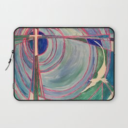 Cross and Dove Laptop Sleeve