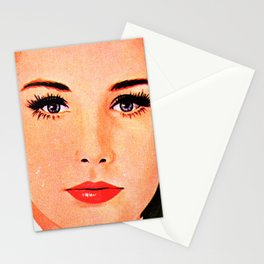 Those Eyes Though Stationery Cards