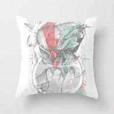flour·ish Throw Pillow
