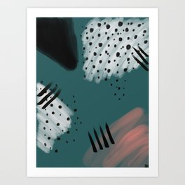 Fall 2016 Swatches Art Print
