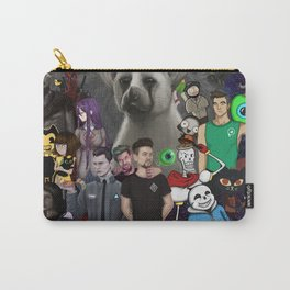 Super Duper Awesome JackSepticEye Poster Carry-All Pouch