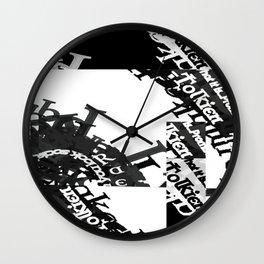 Garamond Celtic Samples.... Wall Clock