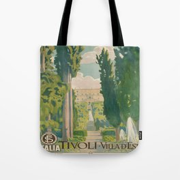 Vintage poster - Italy Tote Bag