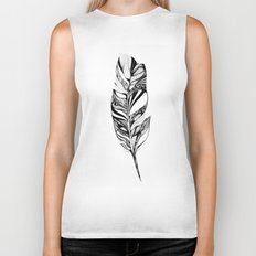 Feather - Lucidity Biker Tank