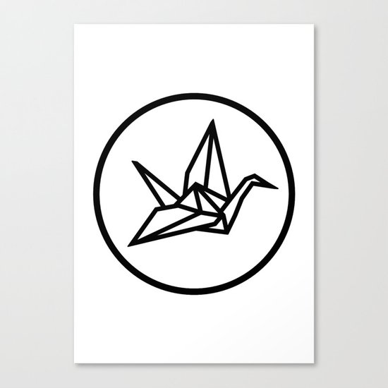 YO ZEN logo Canvas Print