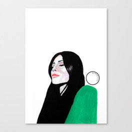Kylie Jenner Canvas Print