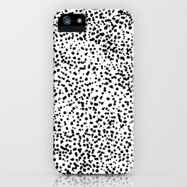 Retro Themed Dot Pattern Design iPhone Case
