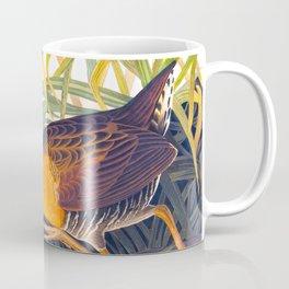 Great Red Breasted Rail John James Audubon Scientific Birds Of America Illustration Coffee Mug