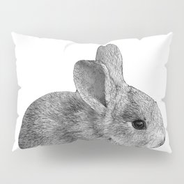 baby bunny rabbit Pillow Sham