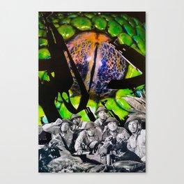 Fear & Desire Canvas Print