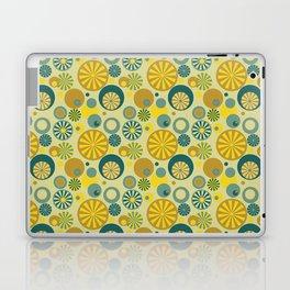 Circle Frenzy - Yellow Laptop & iPad Skin