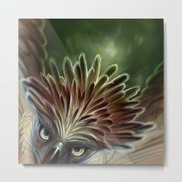 Philippine Eagle Metal Print