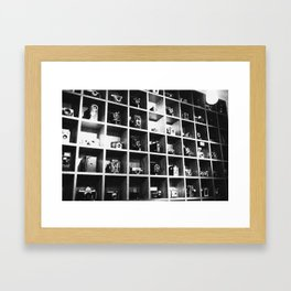 Vintage Camera Affair. Framed Art Print