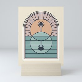 Venn Island Mini Art Print