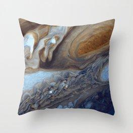 Jupiter's Red Spot Throw Pillow