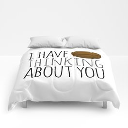 I've Bean Thinking About You Comforters