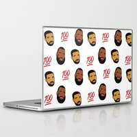 the 100 Laptop & iPad Skins featuring 100 by Gone