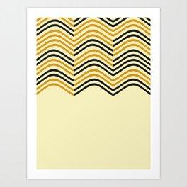 Abstract Shapes Pattern Art Print