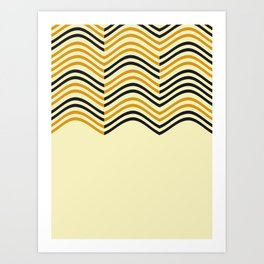 Abstract Shapes Pattern Art Print