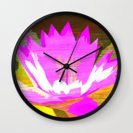 illusion to divine karma Wall Clock