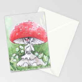 Empire of Mushrooms: Amanita Muscaria Stationery Cards