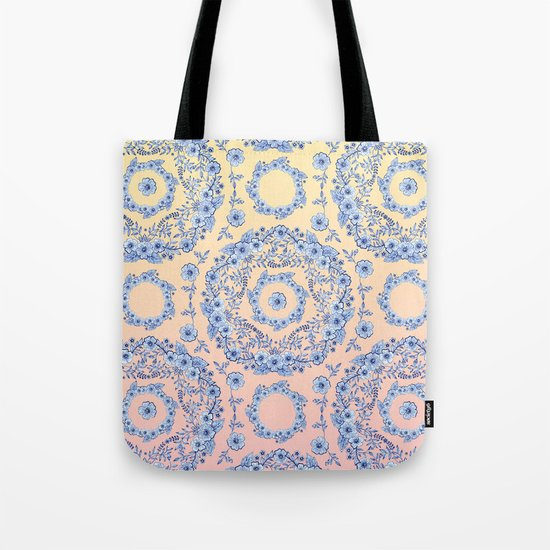 Blue Rhapsody Tote Bag