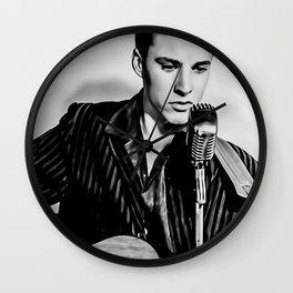 Ricky Nelson Poster, Ricky Nelson Canvas, Print Art Poster, Hip Hop, Wall Art, Home Decor, Gift Poster, Vintage Poster Wall Clock