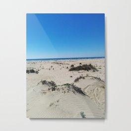 Beach. Huelva Metal Print