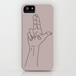 Guns for hands iPhone Case