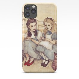 Dorothy and Alice iPhone Case