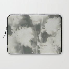 Gray Dahlias Laptop Sleeve