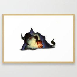 Reading is Magic! Framed Art Print