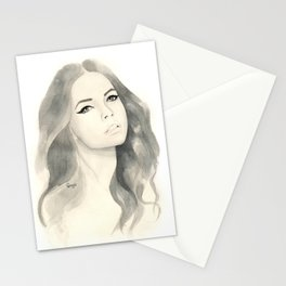 Barabara Palvin Stationery Cards