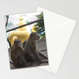 Batu Caves Monkey Stationery Cards