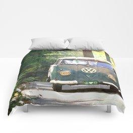Peace Love Nature Comforters