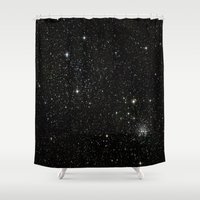 universe Shower Curtains featuring Universe  by Walk on Water