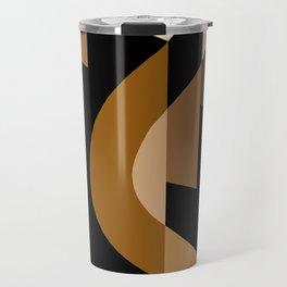 SUISSE - Art Deco Modern: CAFE JAVA Travel Mug