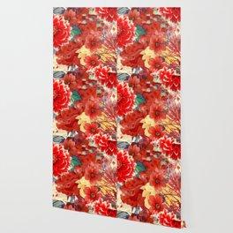 flowers 29 #flora #flowers #pattern Wallpaper