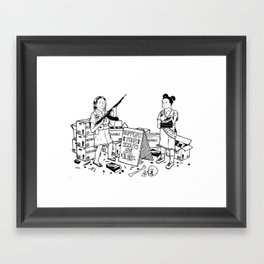 Support Your Scouts Framed Art Print