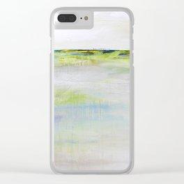 Grisant série horizon Clear iPhone Case