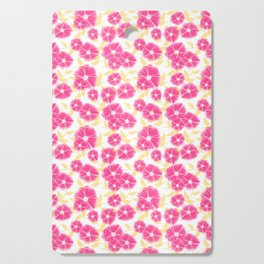 12 Sketched Mini Flowers Cutting Board