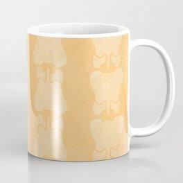 Orange Elephant Coffee Mug
