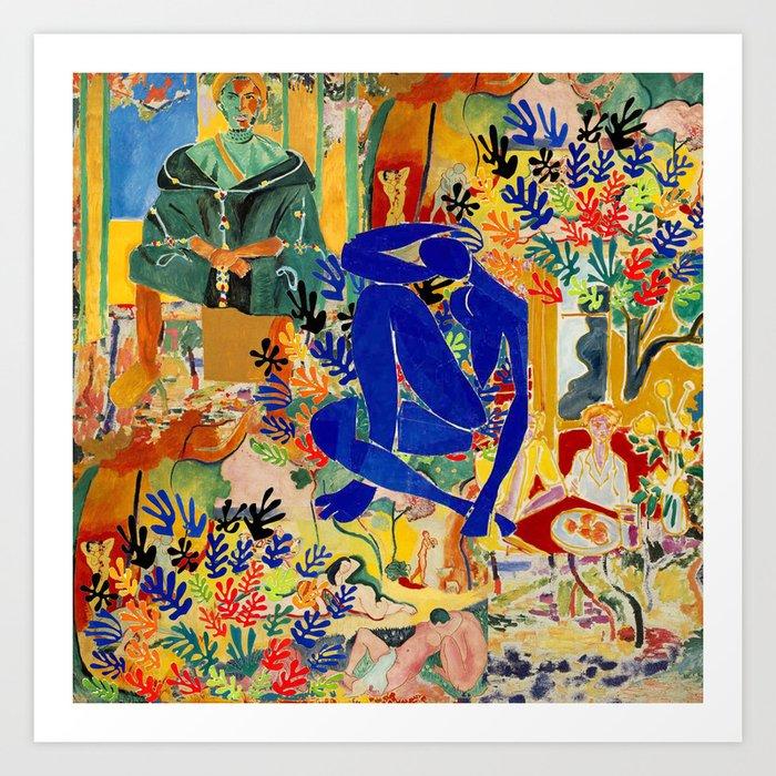 Matisse el Henri Kunstdrucke