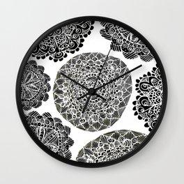 Mandala Mazes Wall Clock