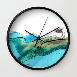 Coffee or Sea Wall Clock
