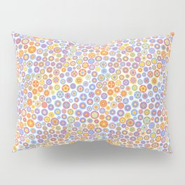 Millefiori Circles - color: Party Time Pillow Sham