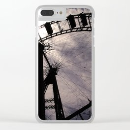 Ferris Wheel of Vienna Clear iPhone Case
