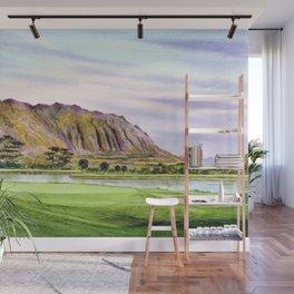 Koolau Golf Course Hawaii 16th Hole Wall Mural
