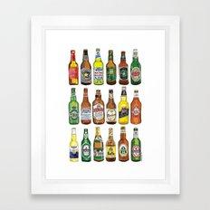Have a beer! Framed Art Print