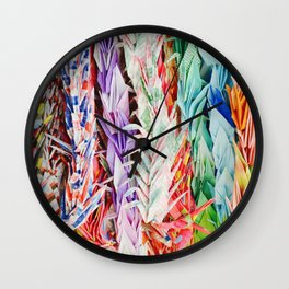 Symbol of Happiness Wall Clock